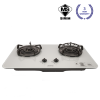 KVH233-GS Double Burner Hob Cooker