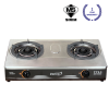 KTM401S Double Burner Table Top Gas Cooker