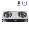 KGT501B Double Burner Table Top Gas Cooker