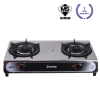 KGT401B Double Burner Table Top Gas Cooker