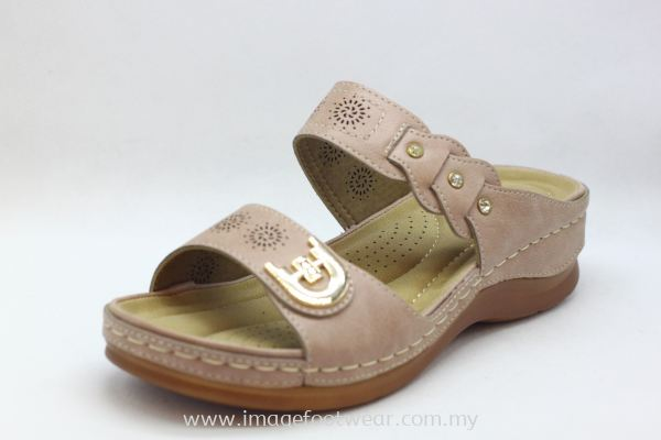 Lady Wider & Comfort Slipper- TF- 91816-5080 PINK Colour