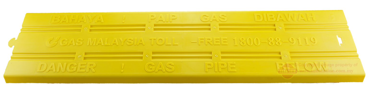 Gas Pipe Protection Slab