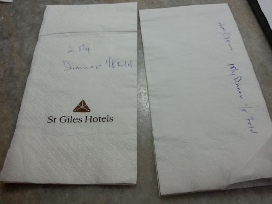 Difference of Thickness for The 2 Ply and 1 Ply