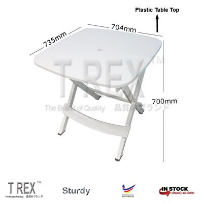 FELTON Collapsible Square Table