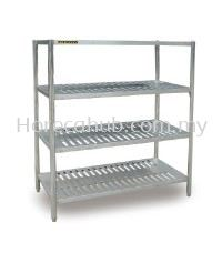 FOUR TIER RACK PERFORATED
