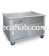 TEA COUNTER ONLY STALL  STAINLESS STEEL FABRICATION