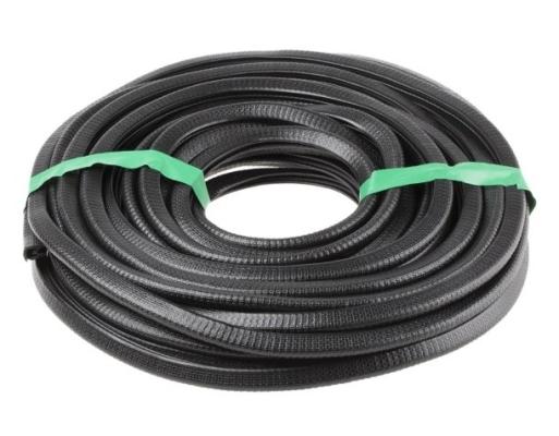 619-1528 - RS PRO PVC Black Edge Protector Strip, 20m x 14.4mm x 10.5mm