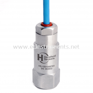 HS-100 Series Oil Resistant & Submersible Cable (PUR) Industrial Accelerometer