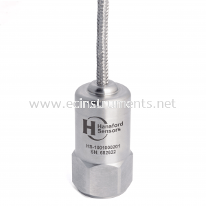 HS-100F Series Low Speed Braided Cable Industrial Accelerometer