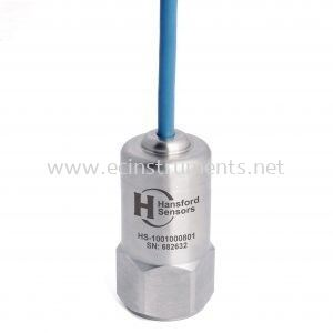 HS-100F Series Low Speed Flame Retardant Cable Industrial Accelerometer