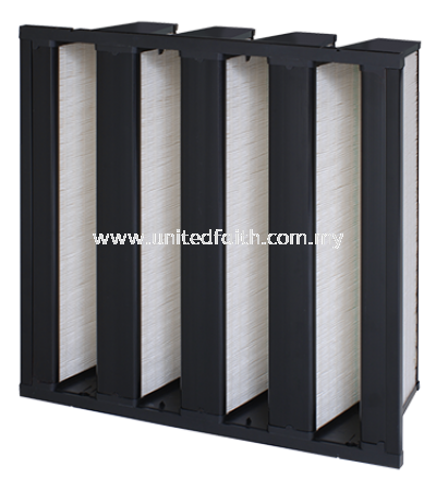 VariCel® VXLC -8-PANEL HIGH-EFFICIENCY SUPPORTED PLEAT FILTER