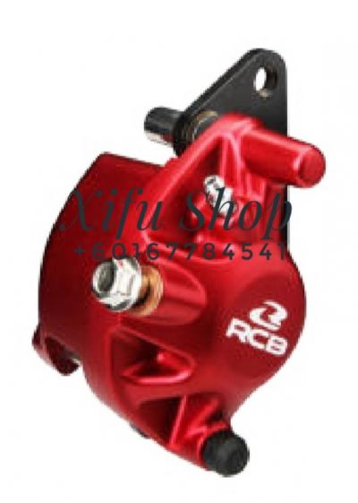 FRONT BRAKE CALIPER RCB LC135 4S/ EGOS S2-SERIES RED (01BC019)