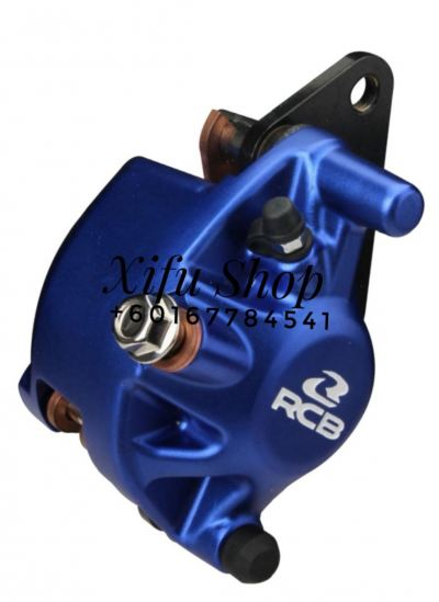 FRONT BRAKE CALIPER RCB LC135 5S S2-SERIES BLUE (01BC019)
