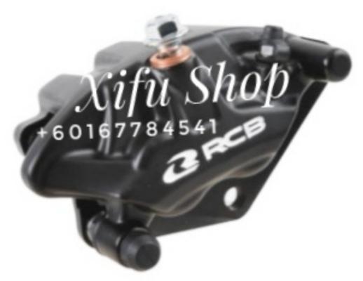 FRONT BRAKE CALIPER RCB RS150R /W110 S3-SERIES BLACK (01BC034)