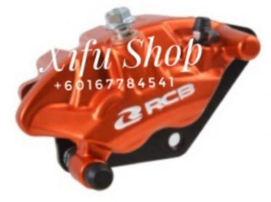 FRONT BRAKE CALIPER RCB W125 S3-SERIES ORANGE (01BC037)