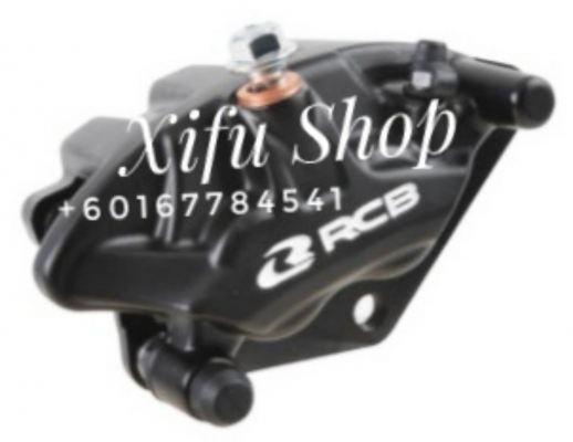 FRONT BRAKE CALIPER RCB W125 S3-SERIES BLACK (01BC037)