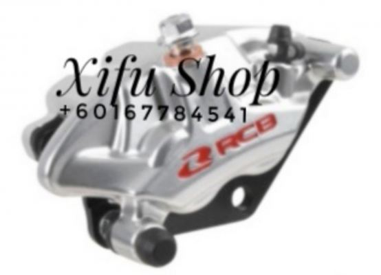 FRONT BRAKE CALIPER RCB Y15ZR S3-SERIES SILVER (01BC031)