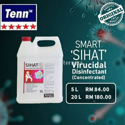 5L SMART 'SIHAT' VIRUCIDAL DISINFECTANT (CONCENTRATED)