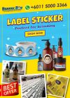 Product Label Sticker