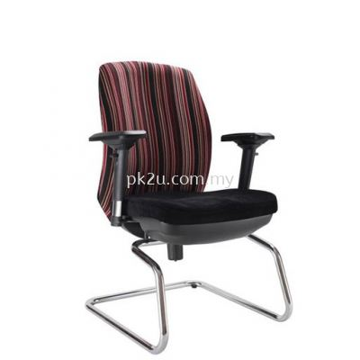 PK-ECOC-3-V-C1- Linear Visitor Back Chair