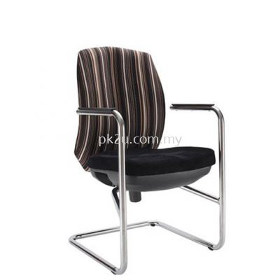 PK-ECOC-3-V-CC-C1- linear Visitor Back Chair