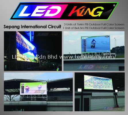 P8 Outdoor LED Billboard