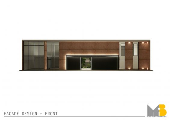 Facade Front Elevation