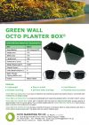 Green Wall Pot Green Wall Pot