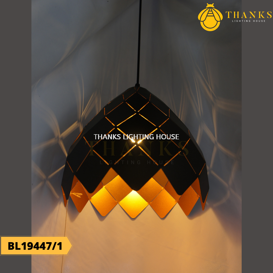 BL19447/1 Single Head Pendant Light