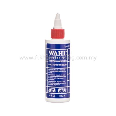 WAHL Professional Clipper Oil 4oz - 118.3ml