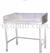 1 TIER TABLE FOR BURNER WITHOUT UNDERSHELF (TB-1-3018-E) RACK  STAINLESS STEEL FABRICATION