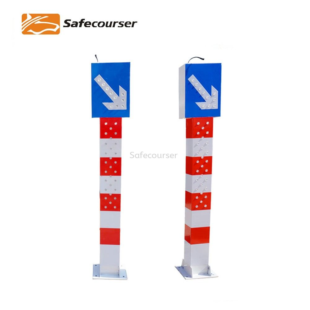 Road Traffic Safety Flashing Solar Warning Light