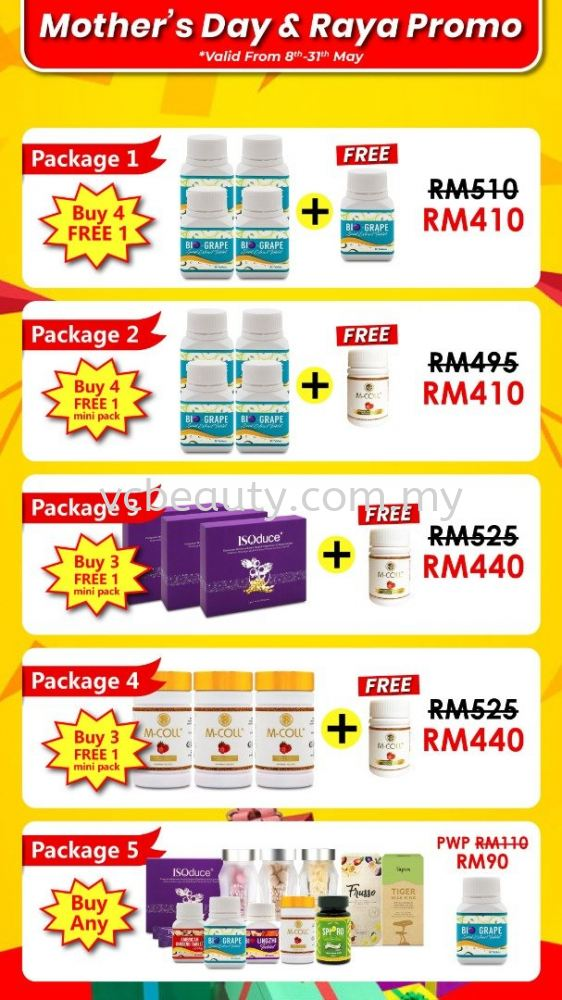 Wellous Products Mother's Day & Raya Promo!