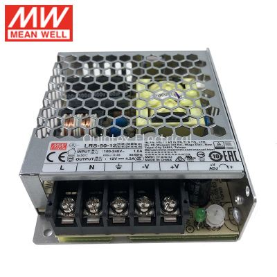 MEAN WELL LRS50-12 12VDC 4.2A Power Supply