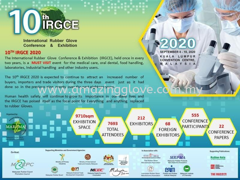 10th IRGCE International Rubber Glove Conference & Exhibition