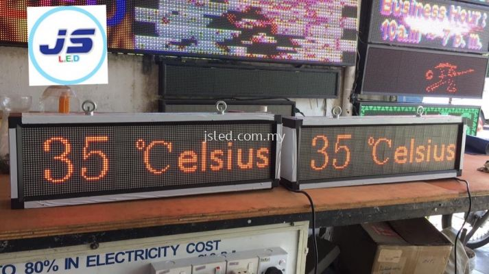 Temperature/Humidity Display With Sensor