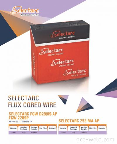 Selectarc Flux Cored Wire
