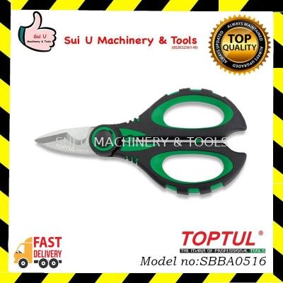 TOPTUL SBBA0516 Heavy Duty Multi-Purpose Electricians Scissors