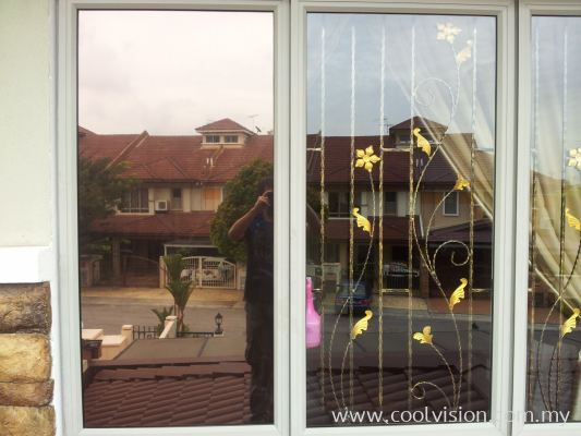 Window Film : Bronze / Silver