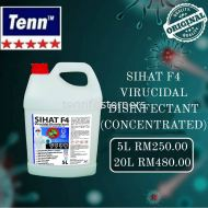 5L SIHAT F4 VIRUCIDAL DISINFECTANT (CONCENTRATED)