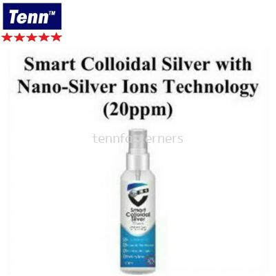 SMART COLLOIDAL SILVER WITH NANO-SILVER IONS TECHNOLOGY (20PPM)