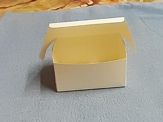 Cake Box Plain White