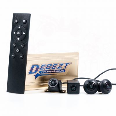 DEBEZT 360 VIEW PARKING SYSTEM WITH NIGHT VISION