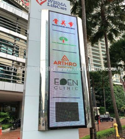 P8 Outdoor LED Screen 3x13ft