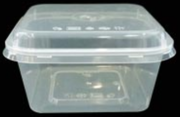 Square Container (With Spoon) FF-SQ450 (TLT-450)