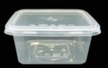 Square Container FF-SQ250 TLT Plastic Container Packaging