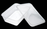Rectangle Container FF-650 (TLT-650) TLT Plastic Container Packaging