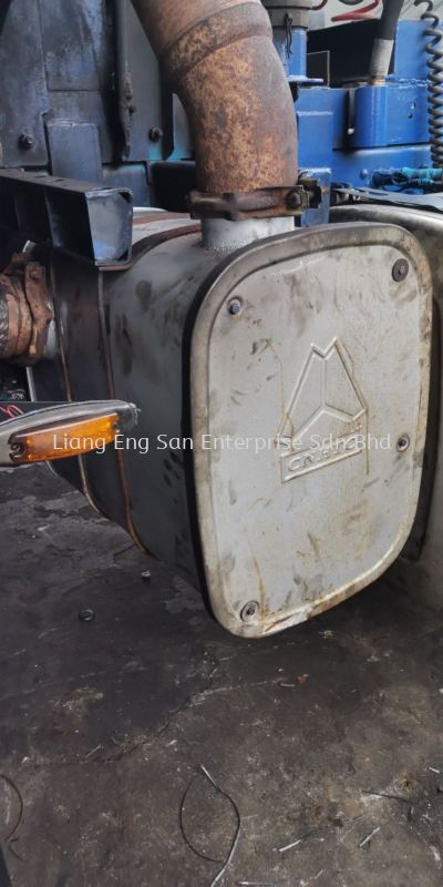 EXHAUST BOX CNTC HOWO