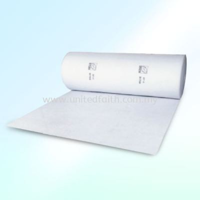 Spray Booth Ceiling Filter -Roll type media filter made from Synthetic Polyester Fiber is safe and easy to handle