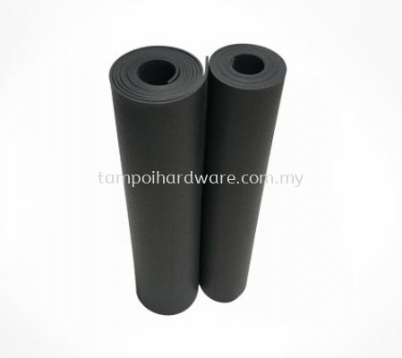 Black Rubber Sheet with Liner